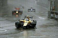 Formel 1 - Renault: Wir sind keine Crasher