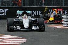 Formel 1 - Lewis Hamilton gewinnt turbulenten Monaco GP