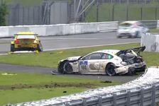 24 h Nürburgring - Video: Vom Podest geschossen: Schubert-BMW torpediert