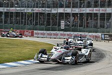 IndyCar - Video: IndyCar 2016: Die Highlights vom 2. Rennen in Detroit