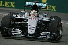Formel 1 - Mercedes: Hamilton deklassiert Rosberg