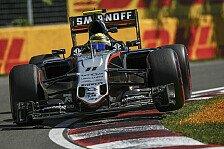 Formel 1 - Force India in Baku: Konkurrenzfähigkeit beweisen
