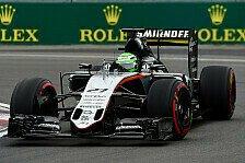 Formel 1 - Force India: Keine Zweifel an Perez und Hülkenberg