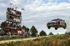 WRC - Video: Hyundai zeigt die besten Sprünge der Rallye Sardinien