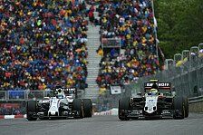 Formel 1 - Best of the Rest: Williams unter Zugzwang: Force India vs. Williams: Showdown in Brasilien