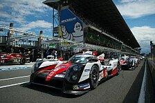 24 h Le Mans - Reglement: Hersteller 2017 weiter eingeschränkt