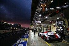 Kein Le-Mans-Test: Vorbereitung Schlüssel, Toyota gut gerüstet