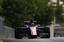 Formel 1 - Bremsen-Schock für Wehrlein in Baku