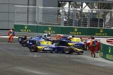 GP2 - 4 Safety Cars! Rookie gewinnt Baku-Premiere