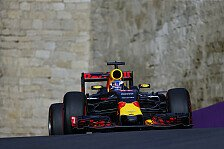 Formel 1 - Zeitgleich! Vettel in Ricciardos Windschatten