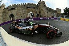 Formel 1 - Force India: In Österreich wieder auf Baku-Niveau?