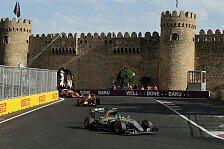 Formel 1 - Baku wehrt sich gegen Traditionsstrecken-Kritik