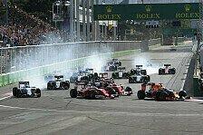 Formel 1 - Baku-Kommentar - Gähn-Rennen mit Geil-Potenzial
