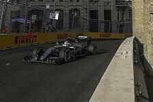 Formel 1 - Geschwindigkeitsrekord in Baku: Die Topspeeds