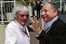 Jean Todt: Hoffentlich kann Bernie Ecclestone sein Leben genießen