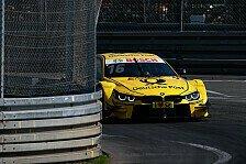 DTM Norisring: Glock und Spengler kollidieren im Training