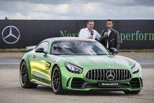 Auto - Lewis Hamilton im Mercedes-AMG GT R