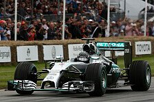 Formel 1 - Video: Donuts! Eine Runde mit Rosberg in Goodwood
