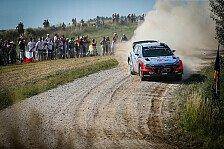 WRC - Video: Rallye Polen: Die besten Aufnahmen aus der Luft