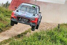WRC - Video: Hyundai feiert in Polen fünftes Podest der Saison