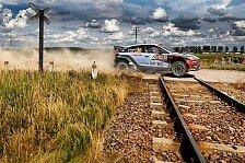 WRC - Video: Hyundai präsentiert die besten Onboard-Aufnahmen aus Polen
