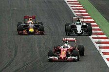Formel 1 - Reifenkiller Force India: Rennen eine Rutschpartie