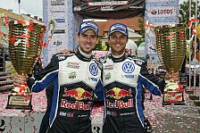 WRC - Mr. Loverboy trifft auf Batman: Match-Battle: Andreas Mikkelsen und Anders Jaeger