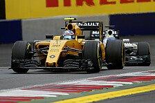 Formel 1 - Renault in Großbritannien: Rückkehr in die Punkte