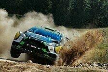 WRC - Video: Finnland: Al Rajhi rutscht auf dem Dach ins Ziel