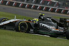 Formel 1 - 2017 als gro�e Chance f�r Force India: Mallya: Wir wollen Williams �berholen