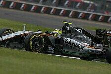 Formel 1 - Force India rückt Williams weiter auf die Pelle