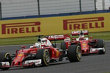 Formel 1 - Ferrari: Katastrophenwochenende in Silverstone