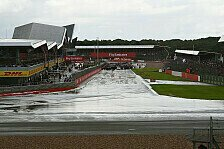 Formel 1 Silverstone II, Wetter: Regen am Jubiläums-Sonntag