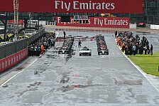Formel 1 - Strategiegruppe einig: Normale Starts im Regen