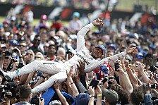Formel 1 - Hamilton feiert Heimsieg in Silverstone