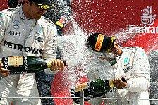 Formel 1 - Hamilton scherzt: Dickere Eier als Rosberg