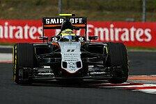 Formel 1 - Perez: Abschied von Force India möglich