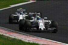 Formel 1 - Williams: Absturz in die Untiefen des Mittelfelds?
