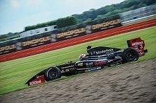 Formel V8 3.5 - Rene Binder: Doppelpodium in Silverstone