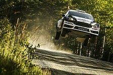 WRC - Video: Tänaks Jagd nach dem Podium endet an einem Stein