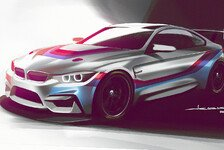 Mehr Sportwagen - BMW präsentiert GT4-Boliden für 2018