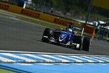 Formel 1 - Nächster Nuller: Sauber als Letzter in die Pause