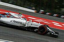 Formel 1 - Williams: Schritt nach vorn in Hockenheim
