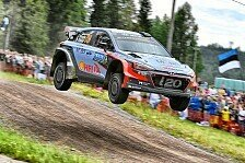 WRC - Video: Versöhnlicher Abschluss für Hyundai in Finnland