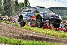 WRC - Video: VW blickt auf Höhen und Tiefen der Rallye Finnland zurück