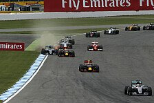 Hockenheim: Hamilton siegt - Klatsche für Rosberg