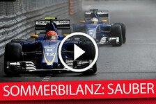 Formel 1 - Die F1-Sommerbilanz: Sauber
