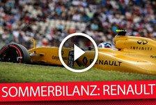 Formel 1 - Die F1-Sommerbilanz: Renault