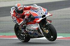 MotoGP - Dovizioso enttäuscht über verpassten Ducati-Sieg
