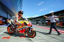 MotoGP - Marquez mit Podiumshoffnung nach Österreich-Crash